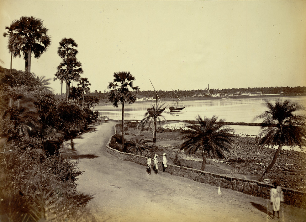 Bombay, Back Bay - 'Lee-Warner Collection: 'Bombay Presidency. William Lee Warner C.S.' taken by an unknown photographer in the 1870s